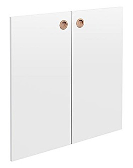 Calico Pair of Doors