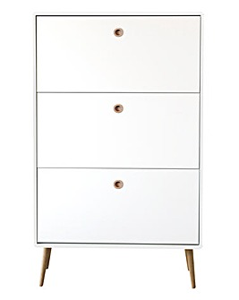 Calico Shoe Cabinet
