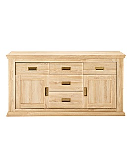 Stanton 2 Door 5 Drawer sideboard
