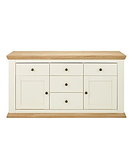 Banbury Two Door Five Drawer Sideboard