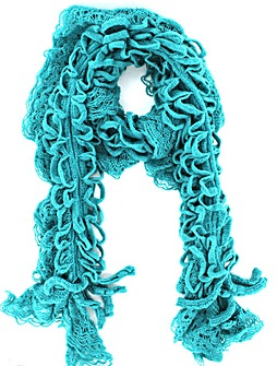 Stretchy Crinkle Scarf