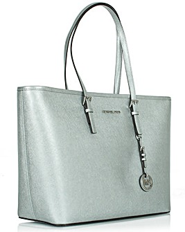 Michael Kors MD  MF Silver Tote