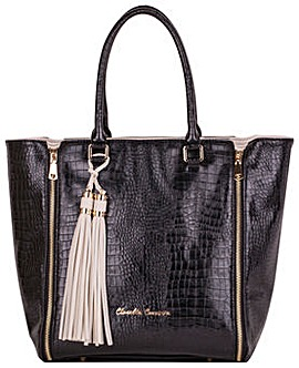 Claudia Canova Twin Strap Zip Detailed