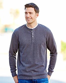 Southbay Long Sleeve Grandad T-Shirt