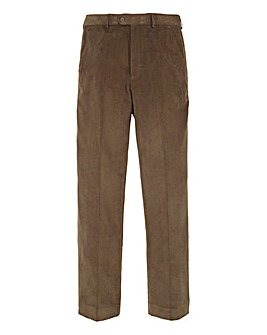 Premier Man Cord Trousers 27in