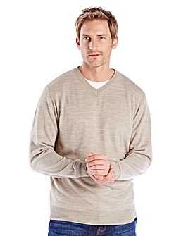 Premier Man V Neck Jumper