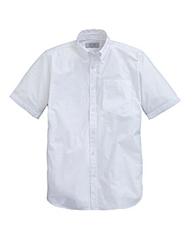 WILLIAMS & BROWN Short Sleeve Spot Shirt