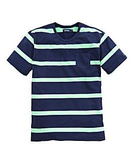 Southbay Unisex Crew Neck Stripe T-Shirt