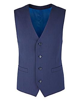 Skopes Pinstripe Suit Waistcoat Tall