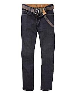 UNION BLUES Jeans with Belt 27in