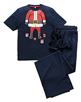 Southbay Knitted Santa Pyjamas