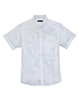 Capsule S/S White Oxford Shirt Regular