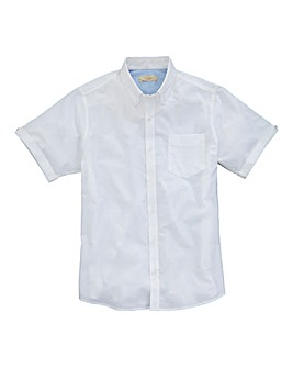 Capsule White S/S Oxford Shirt L
