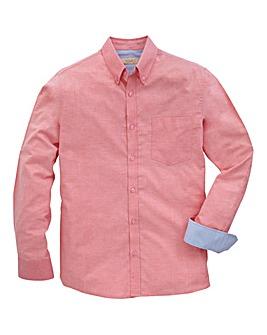 Capsule White L/S Oxford Shirt R