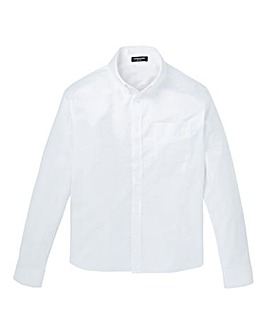 Capsule White L/S Oxford Shirt L