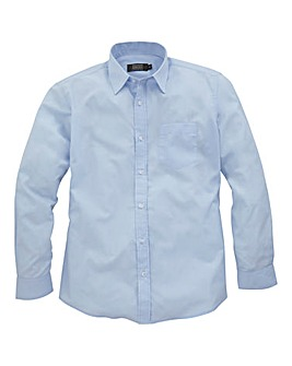 W&B London Blue L/S Formal Shirt L