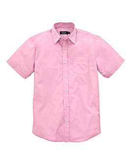 W&B London Pink S/S Formal Shirt R