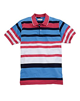 WILLIAMS & BROWN Stripe Polo Shirt