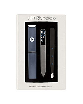 Jon Richard Navy tweezer set
