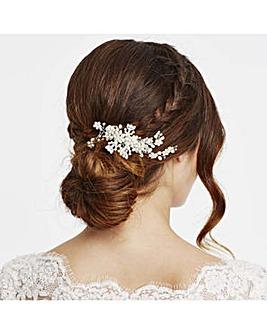 Alan Hannah pearl blossom wrap hair comb