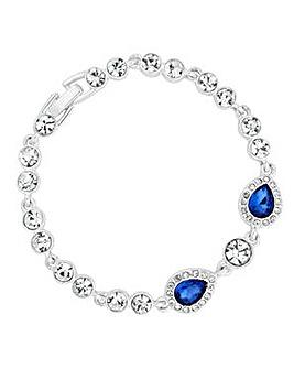 Jon Richard Blue peardrop bracelet