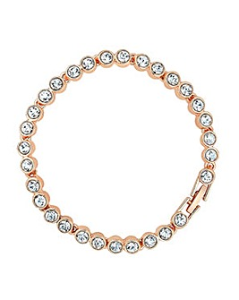 Jon Richard crystal tennis bracelet