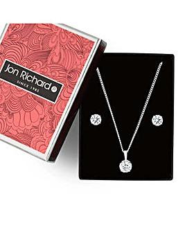 Jon Richard solitaire jewellery set