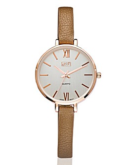 Ladies Slim Strap Watch