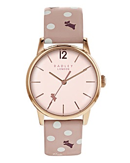 Radley Vintage Dog Dot Watch