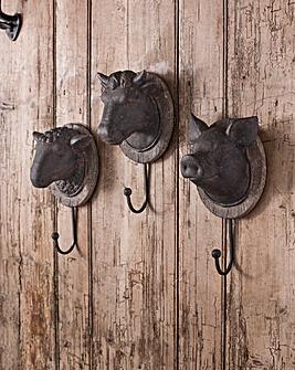 Gallery Pig Head Hook