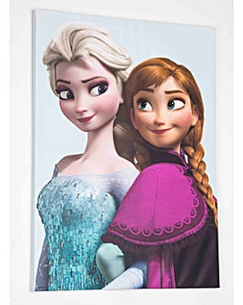 Elsa and Anna Canvas