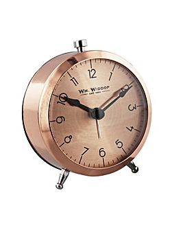 Copper Colour Alarm Clock