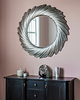 Gallery Lowry Mirror Silver