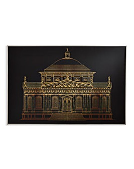 Arthouse Gold Architectural Canvas