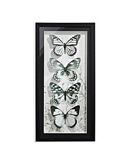 Arthouse Mono Butterflies Filled Frame