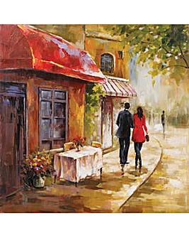 Arthouse Caf� Scene Canvas