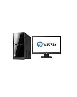 "HP 110 Desktop & 20"" Monitor Bundle"