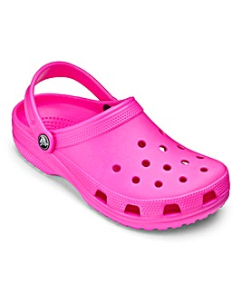 Crocs Pink Classic Clogs