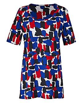 Multi Print Jersey Tunic