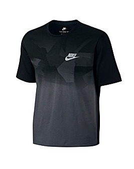 Nike Zinc Colour Block T-Shirt Regular