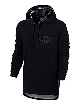 Nike Jersey Hoody with Print Detail