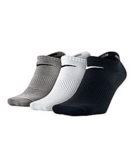 Nike Pack of 3 Graphic No Show Socks