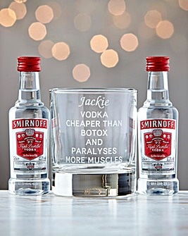 Personalised Vodka Cheaper Than Botox