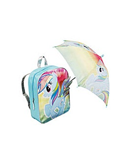 My Little Pony Backpack and Umbrella.