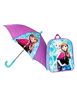 Frozen Backpack & Umbrella.
