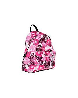 Trespass Pink Palm Backpack.