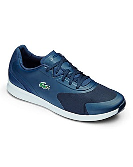 Lacoste LTR.01 Blue Lace Up Trainers