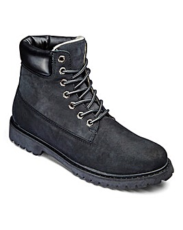 Trustyle Leather Lace Up Boots