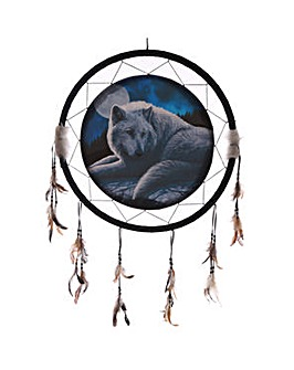 Guardian Wolf Large Dreamcatcher