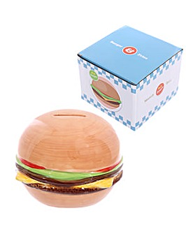 Novelty Fast Food Burger Money Box